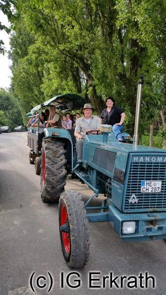 Planwagenfahrten durch das Naturschutzgebiet Bruchhausen