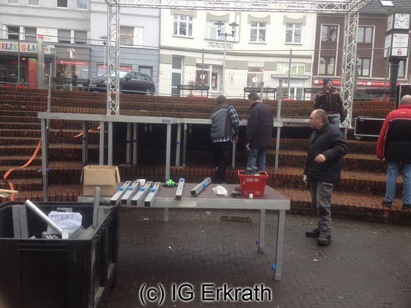 "IG Erkrath: ""Närrische Markthalle 2015 (Mitte: Wolfgang Cüppers)"