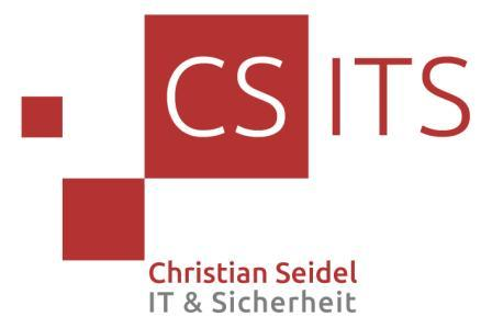 CSBIS - Christian Seidel - Beratung Informationssicherheit